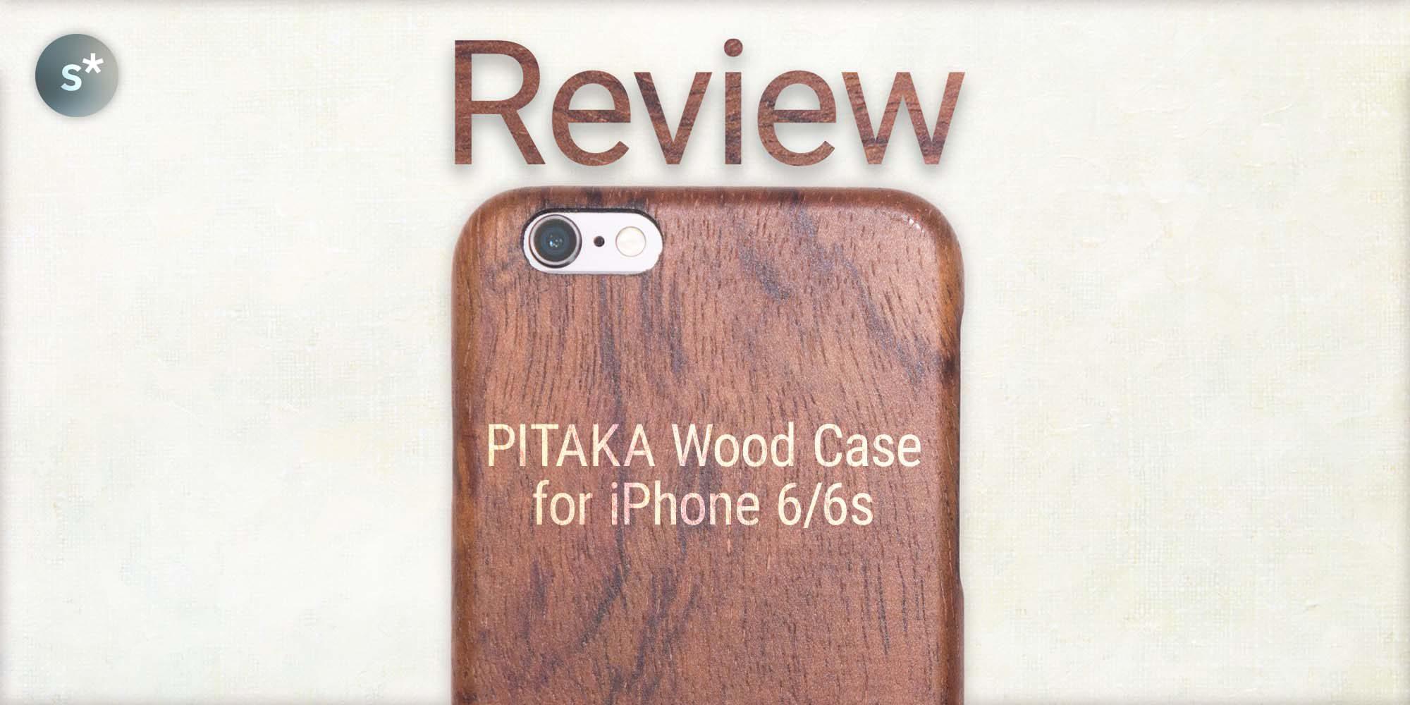 online store c6a2c 42ab2 iPhone 6/6s用の木製ケース「PITAKA Wood Case」ローズウッドモデルの ...