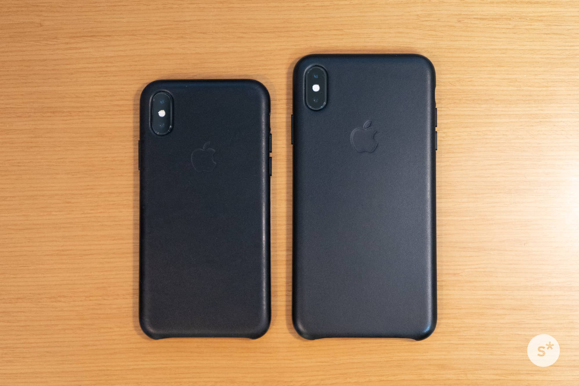 左:iPhone X|右:iPhone XS Max