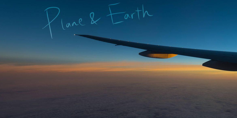 飛行機から眺める、美しい僕らの地球。